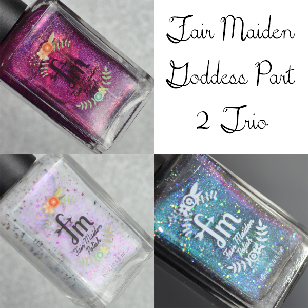 Fair Maiden Goddess Part 2 Trio