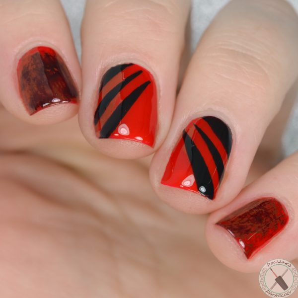 Sally Hansen Superbowl Falcons Nail Art Full Polished Pathology