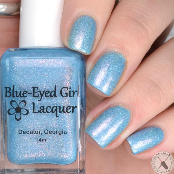 Polish Pick Up April 2017 Blue Eyed Girl Lacquer Inlet at Dusk