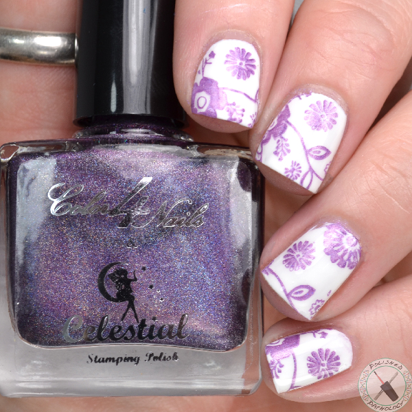 Celestial Cosmetics and Color4Nails Holographic Stamping Polishes