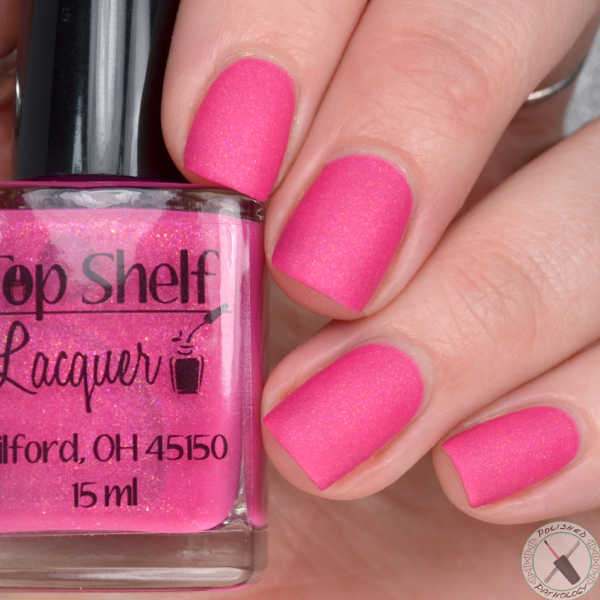 Top Shelf Lacquer Pineapple Matte-rs