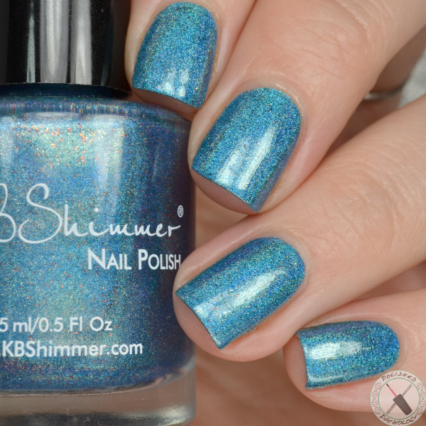 Hella Holo Customs KBShimmer It Goes Without Cyan