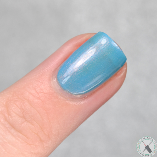 KBShimmer Fall Collaboration Peach For The Sky