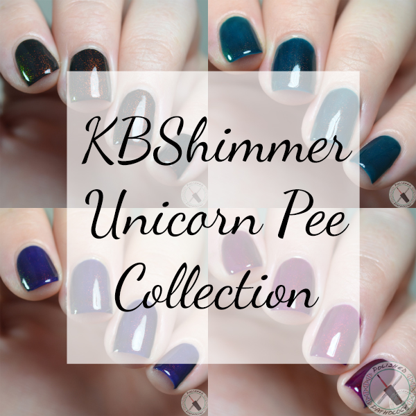 KBShimmer Unicorn Pee collection