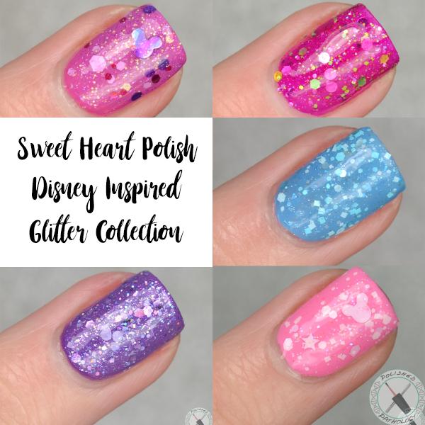 Sweet Heart Polish Disney Inspired Glitter Collection